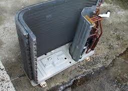 室外熱交換器取替え