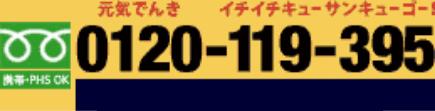 TEL 0120-119-395
