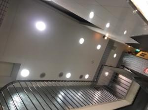 LED照明取替後