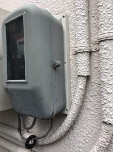 電気メーター取替工事